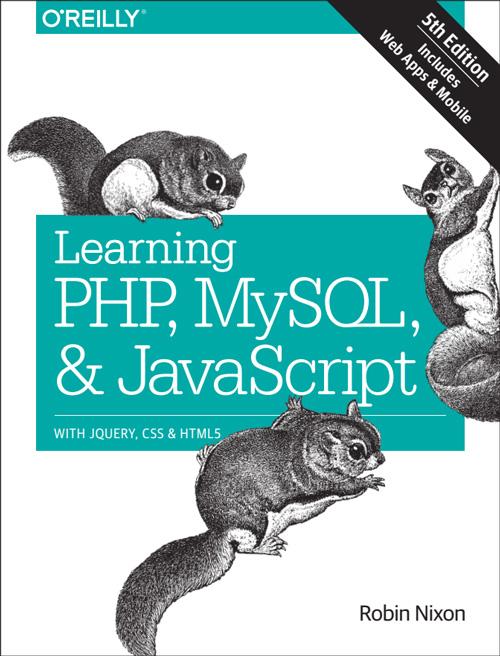 کتاب آموزش PHP MySQL JavaScript Html5 CSS از robin nixon 2018